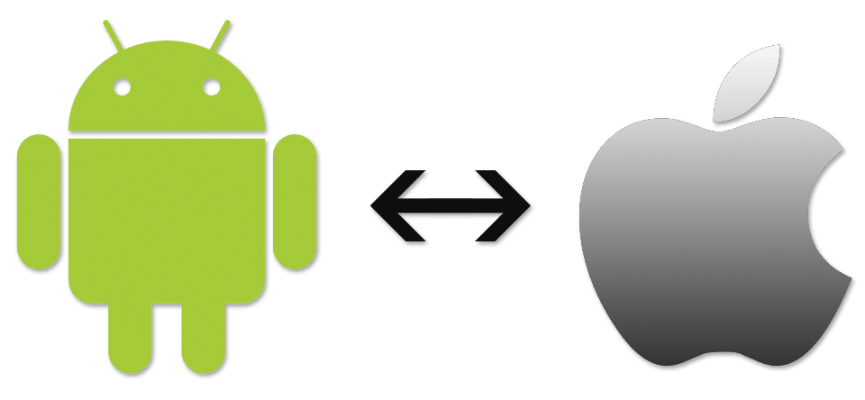 Android iOs logo's